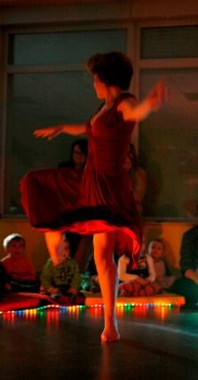 danse début